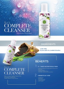 5 in 1 Lovera Complete Cleanser Product Info